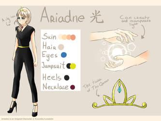 Ariadne reference sheet