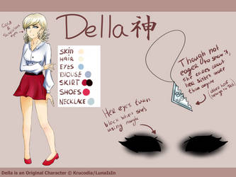 Della Reference Sheet by Krucodia