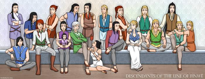 LotR/S: The House of Finwe by Houkakyou