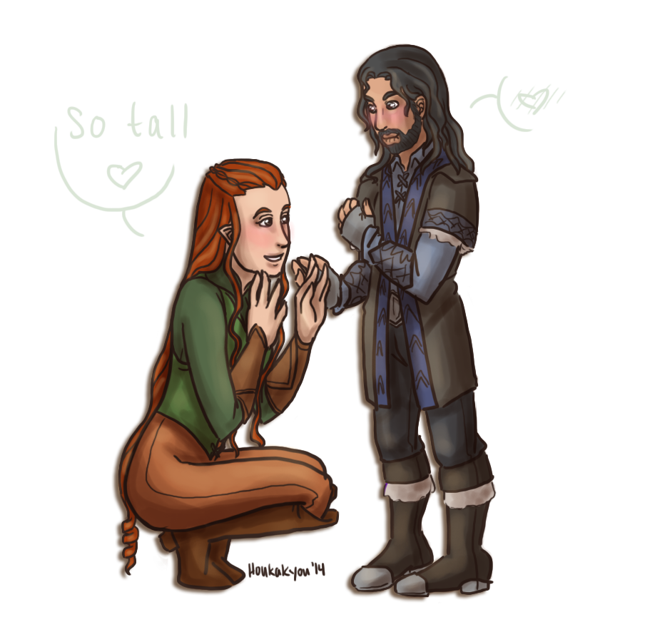 Tauriel And Kili Fan Art