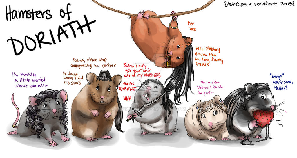 S/CoH: The Real Hamsterwives of Doriath by Houkakyou