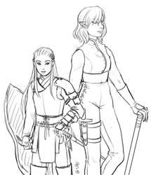 LotR/S: battle ready, battle weary by Houkakyou