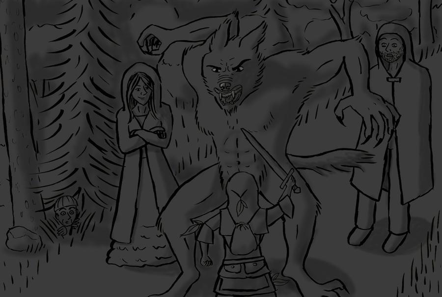 Werewolf by Kwilia