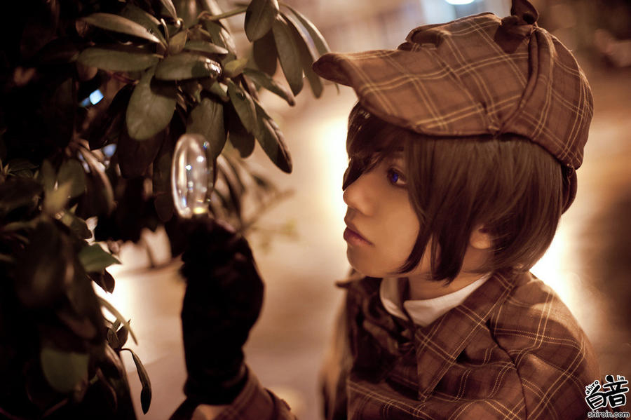 Ciel Phantomhive x Sherlock by gk-reiko