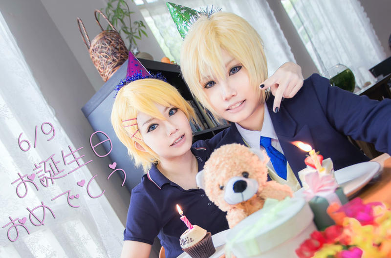 Happy Birthday Kurusu twins! by gk-reiko