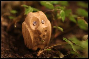 Owl Figurine by ToxTheErisian