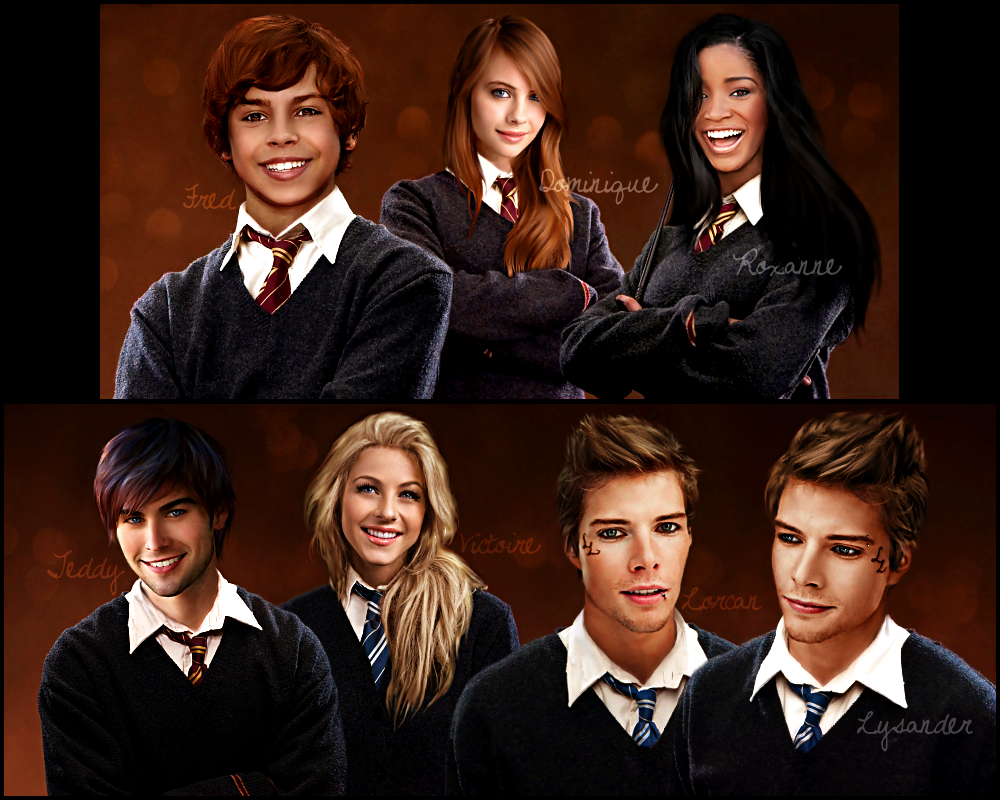 Harry Potter - Next Generation part 2 by xFranzix