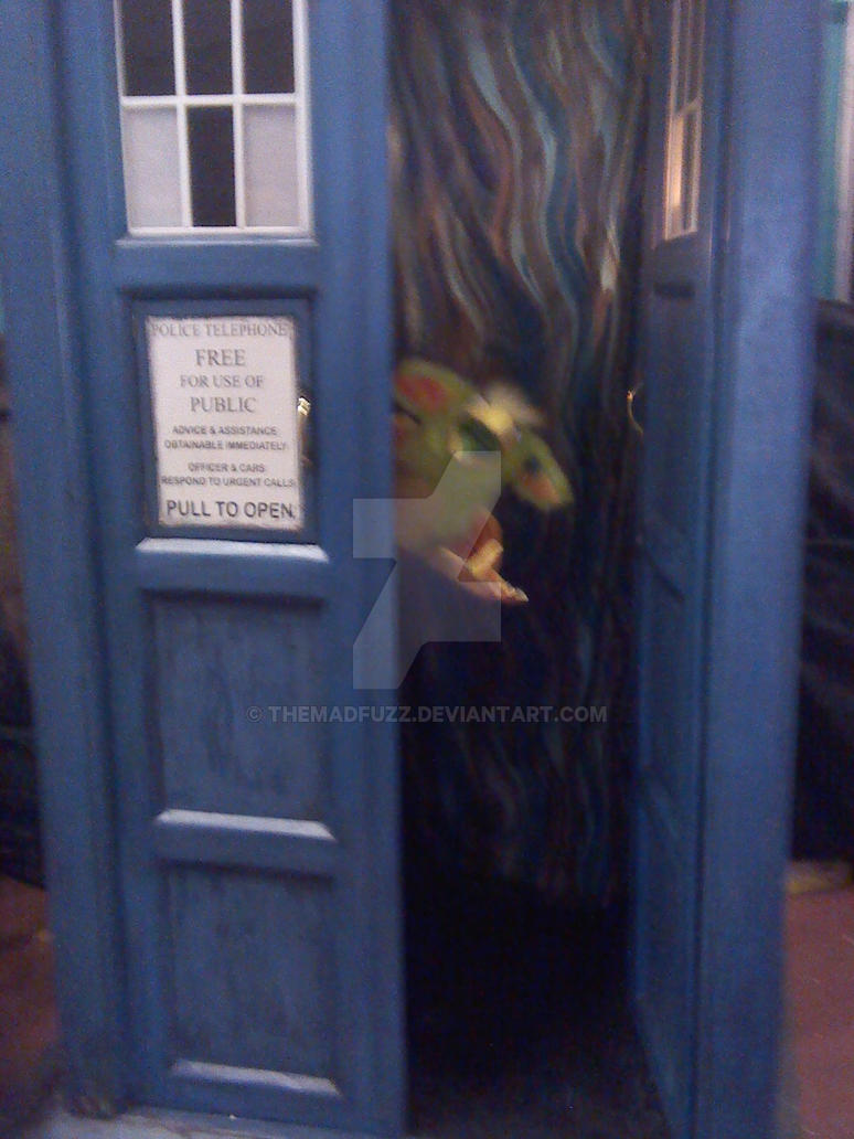 Arborous 'Figment' in the TARDIS!! by TheMadFuzz