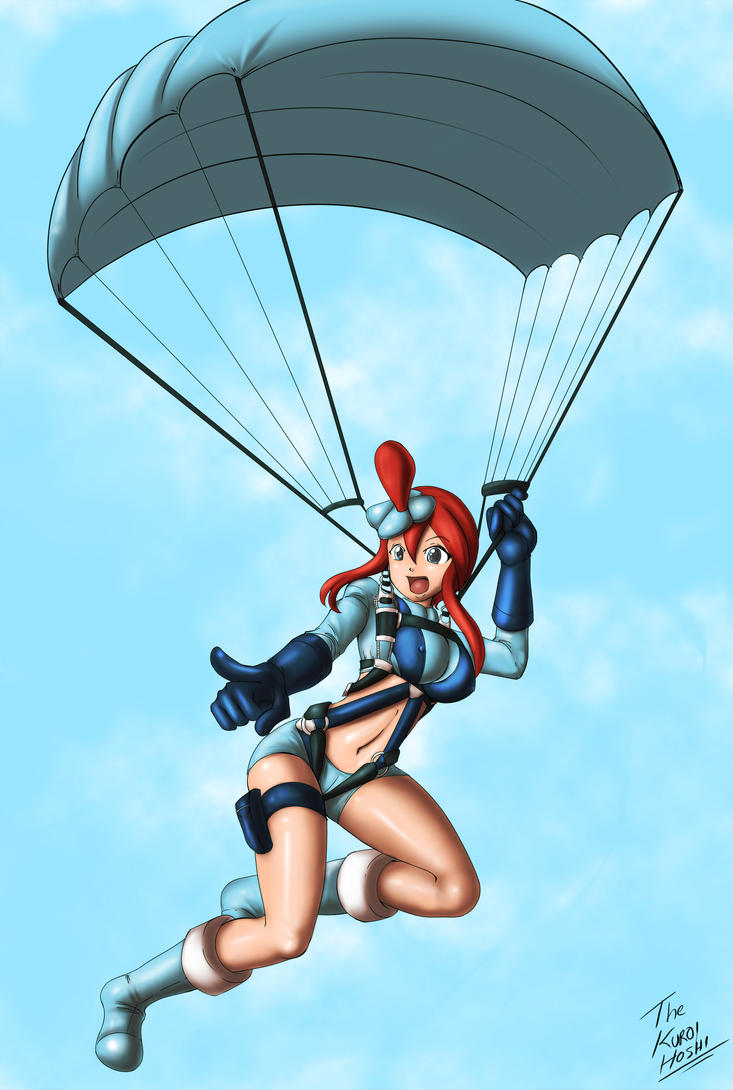 Skyla in the sky - Commission by DAkuroihoshi