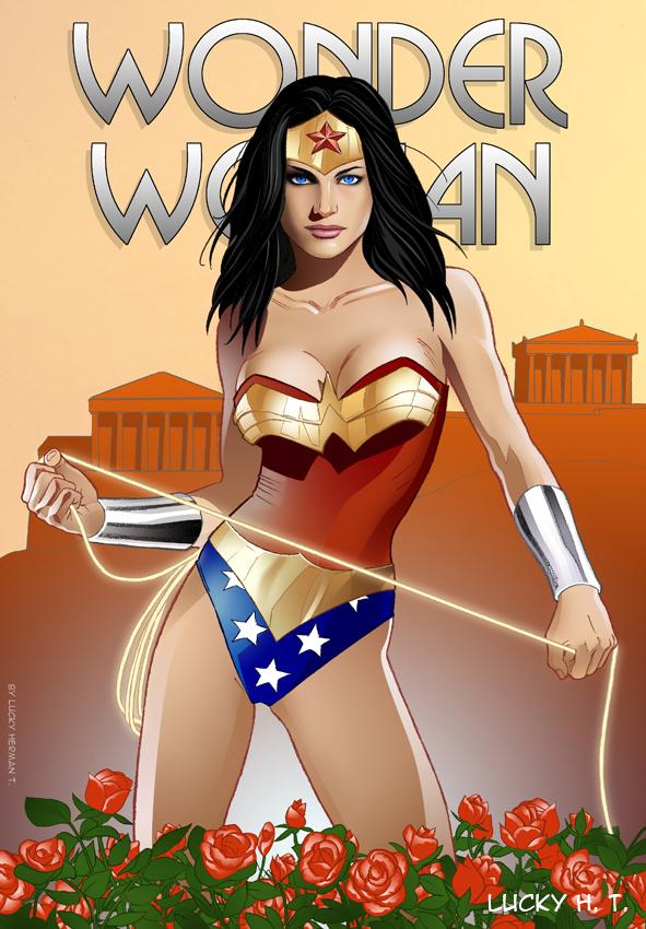Wonder Woman by veryveryluckyman