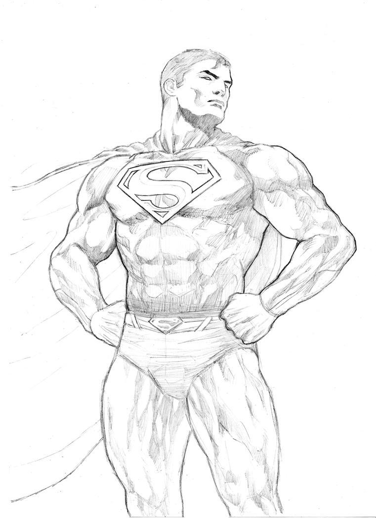 easy superman drawings - photo #20