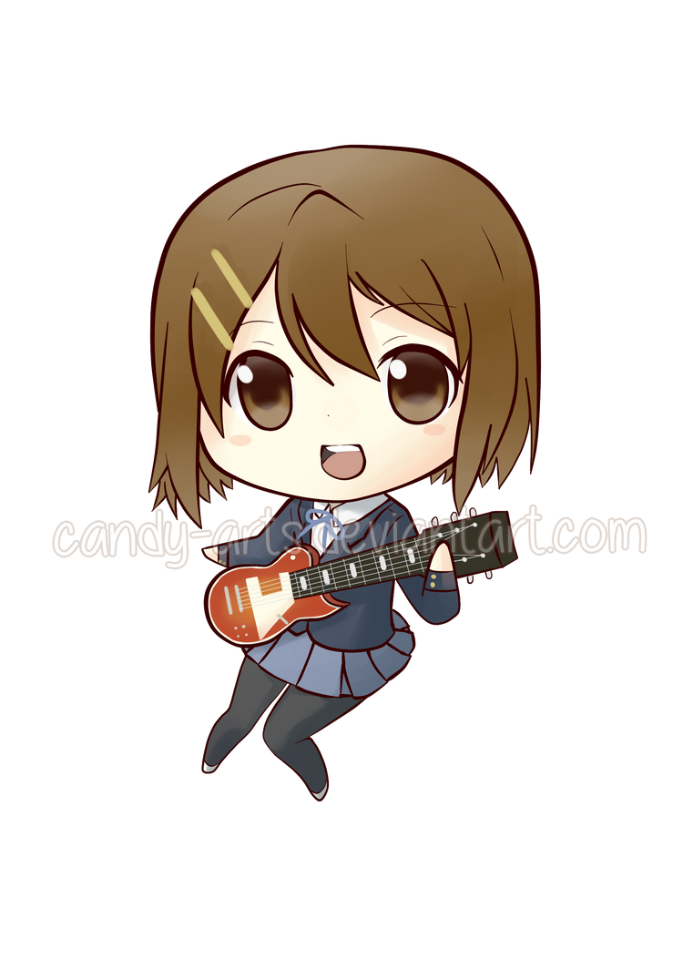 K On Yui Chibi By Candy Arts
