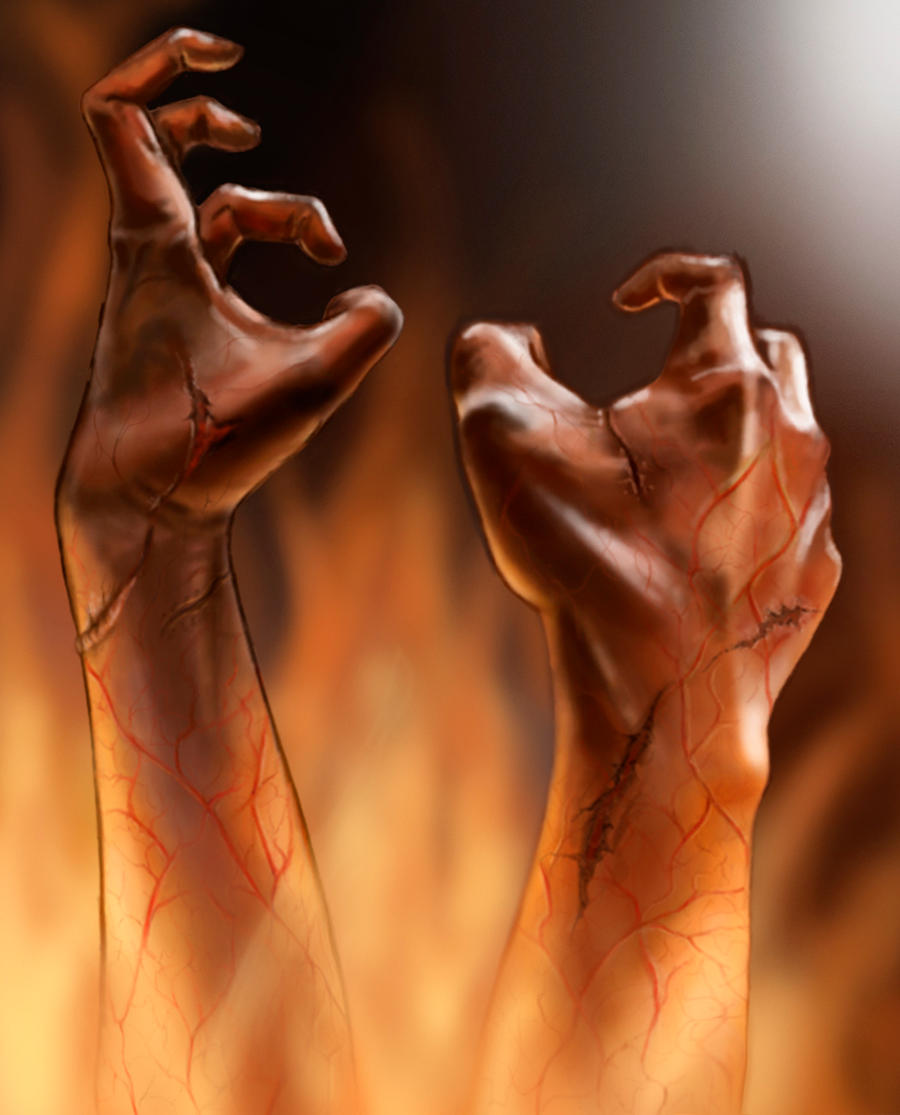 Hands from the Hell by Kariatyda