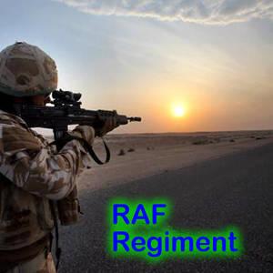 RAF Regiment Sunset