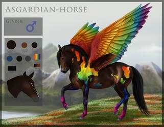 Sold Asgardain D041 by SundaysPony