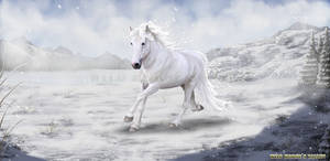 Ice Horse for Wild Horses Valley
