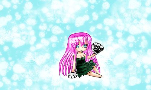 Icebear Mi-chan xD by JuneLight