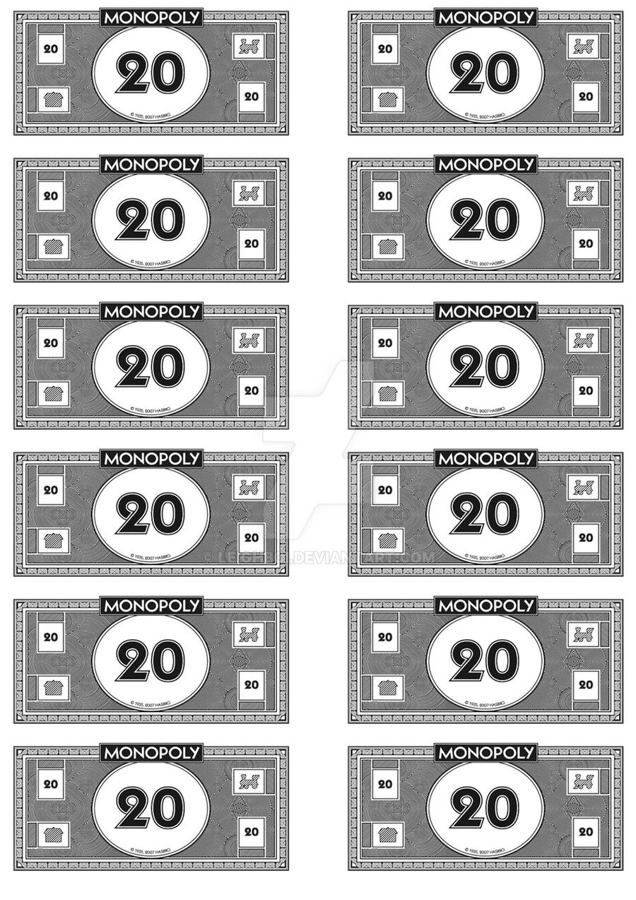 It is a graphic of Exceptional Monopoly Money Printable
