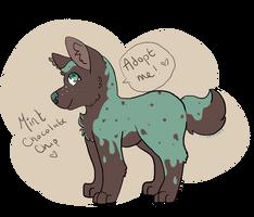 Mint Chocolate Chip Doggo~!