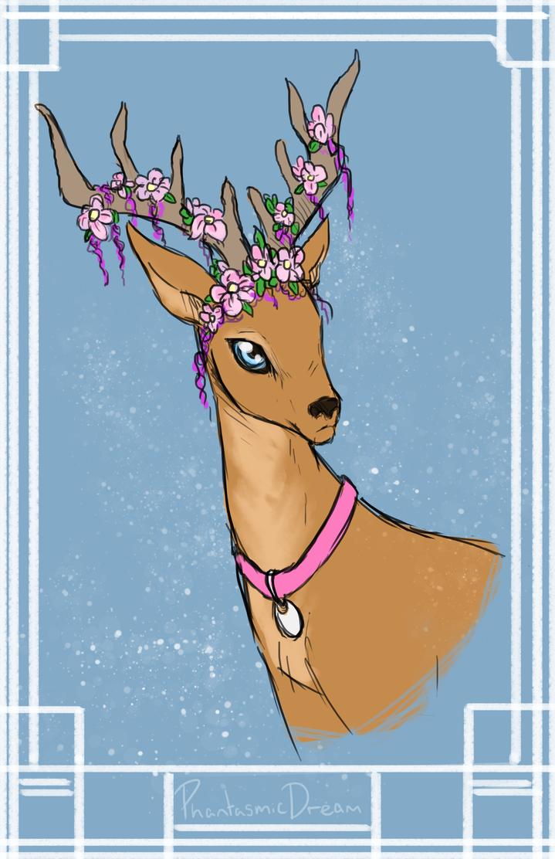 commission__deer_by_phantasmicdream-da3f