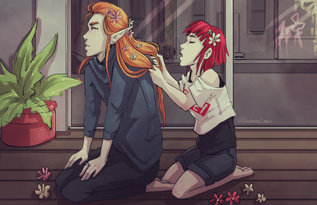 playing_with_hair_by_phantasmicdream_dd4