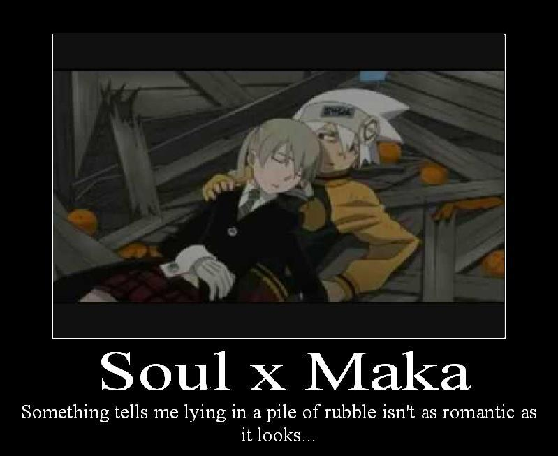 Soul x Maka by naru0sasu1fan