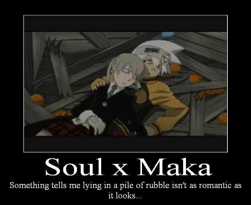 Soul x Maka by naru0sasu1fan