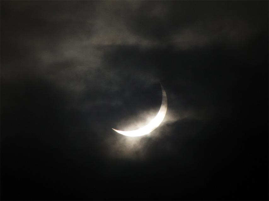 Solar Eclipse 1 by ritwik-mango
