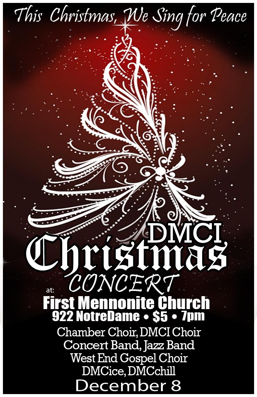 Design poster for concert - Christmas Concert Poster By Wamiloka Christmas Concert Poster By Wamiloka