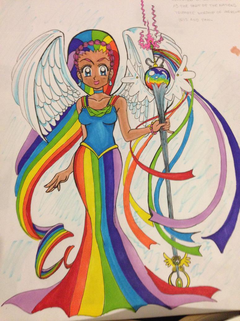 Doing Behind the Greek Mythology and Iris Sample Essay