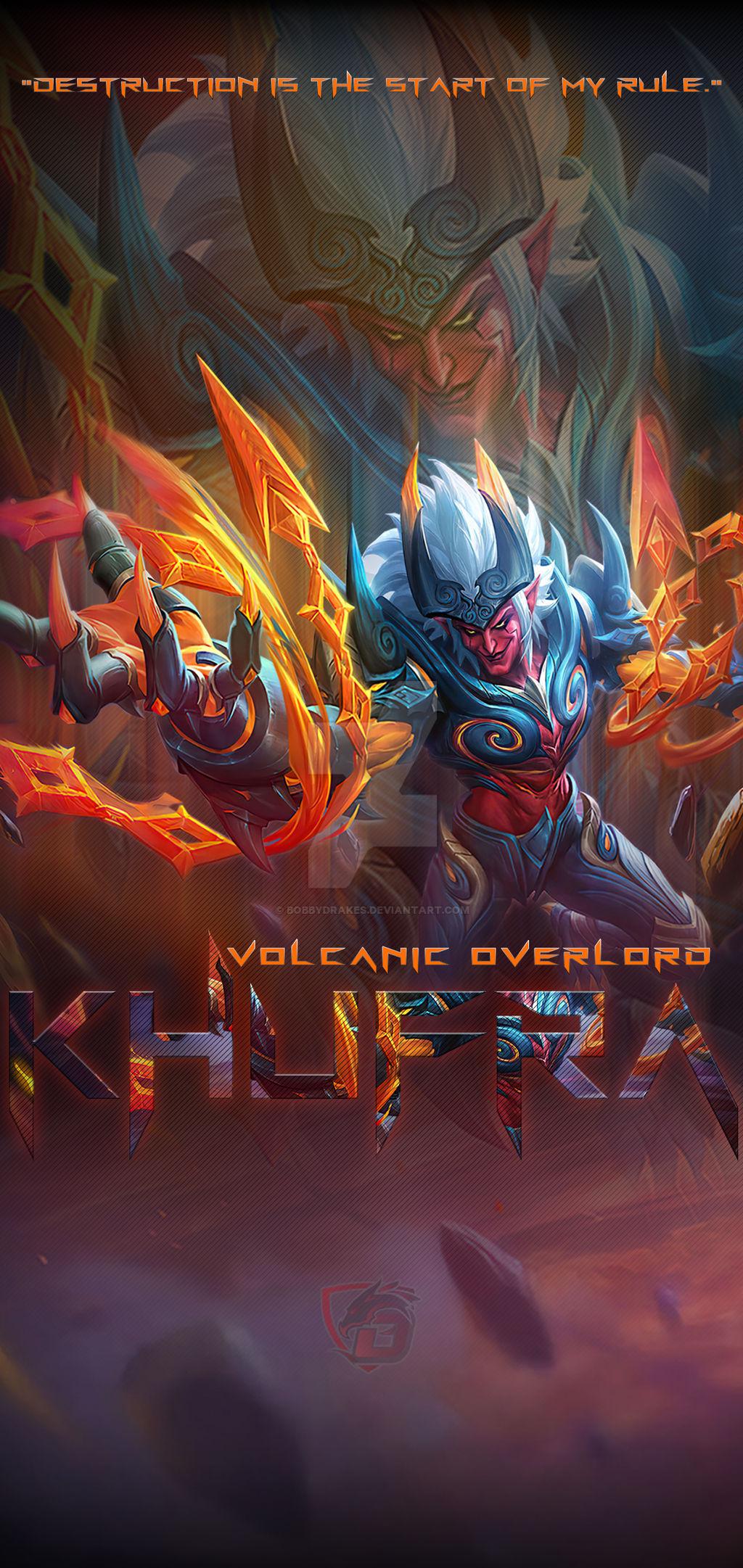 Khufra Volcanic Overlord Mobile Wallpaper By Bobbydrakes On Deviantart