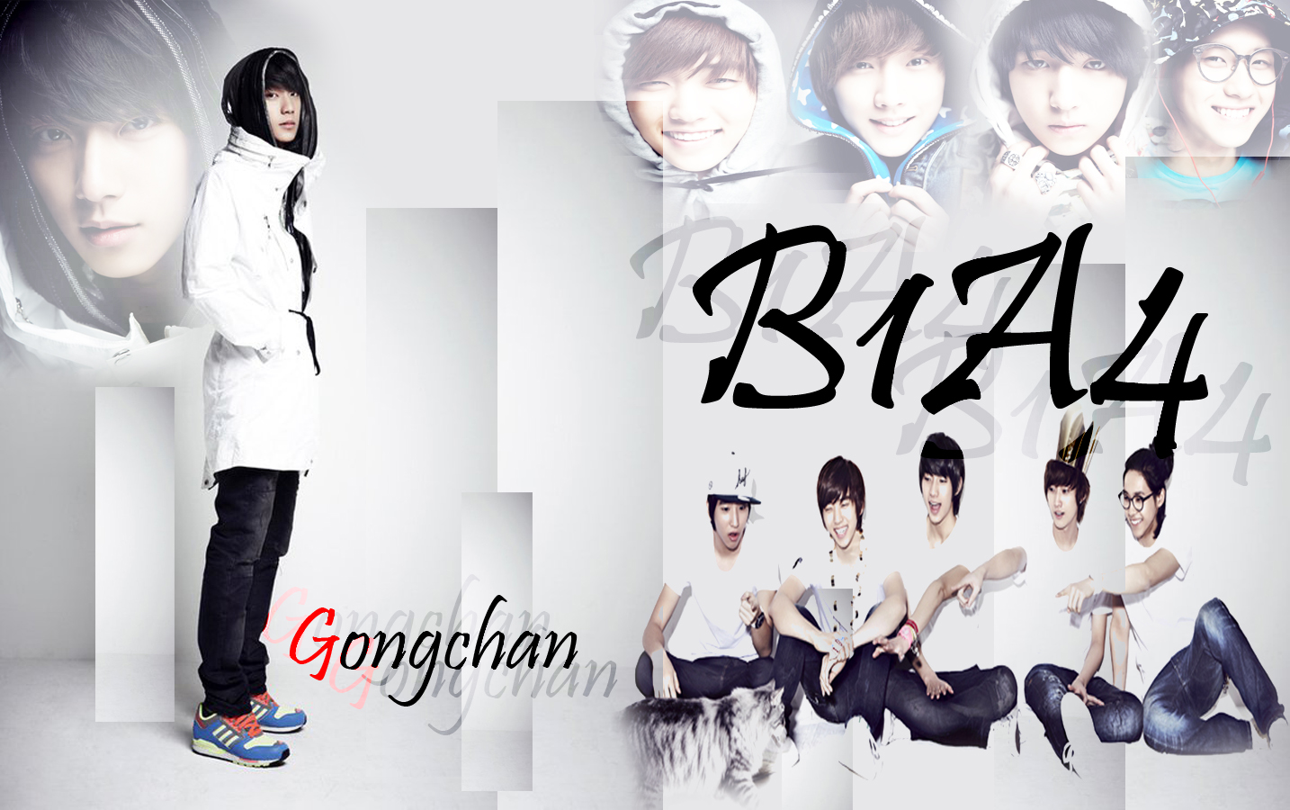 B1a4 2013 wall   B1a4 2014 Wallpaper