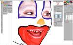 clown kid wip