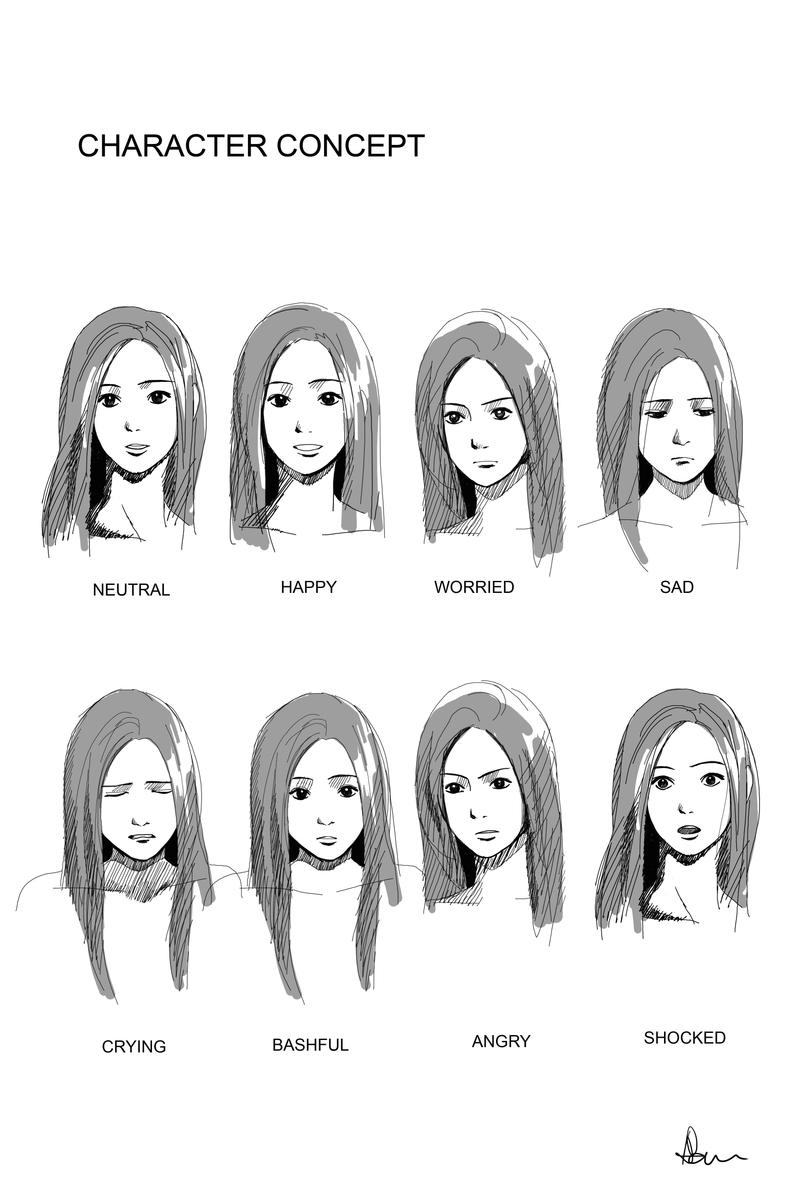 Character Concept: Rain by ANNAS0R