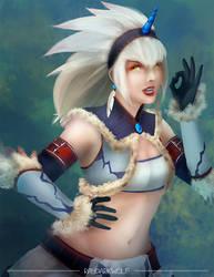 Kirin from Monster Hunter collab