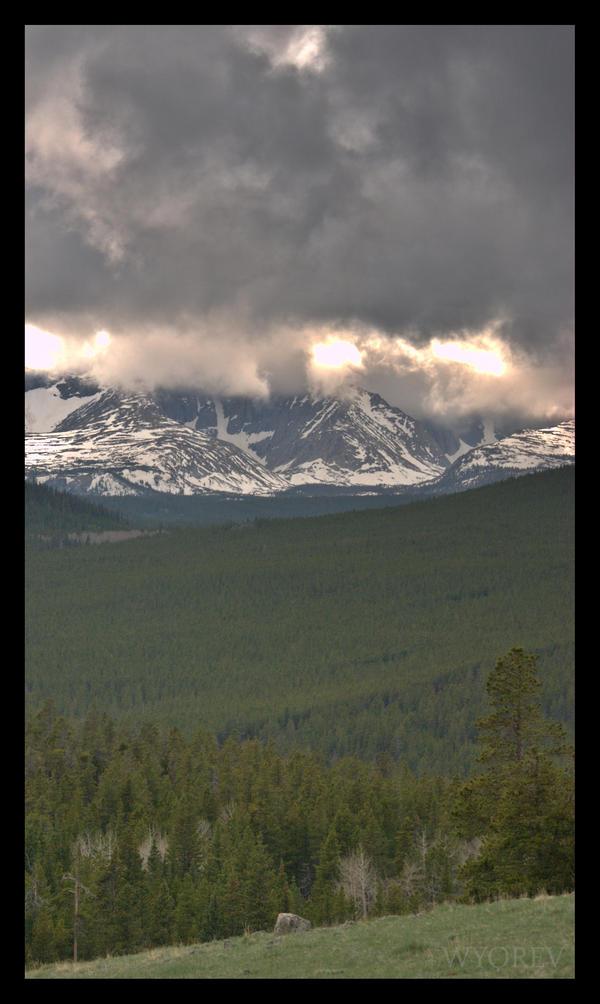 Turbulent Peak by wyorev