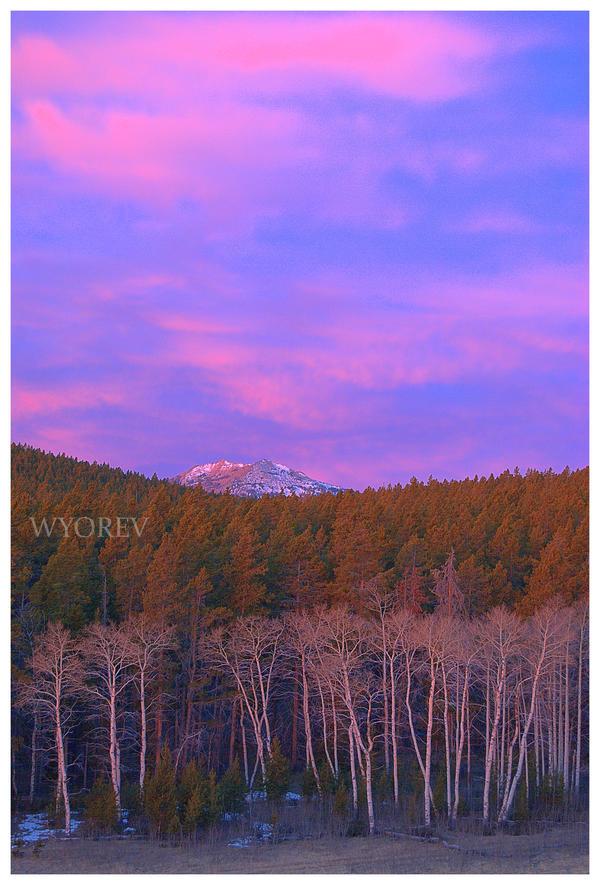 Hazelton Peak Morning by wyorev
