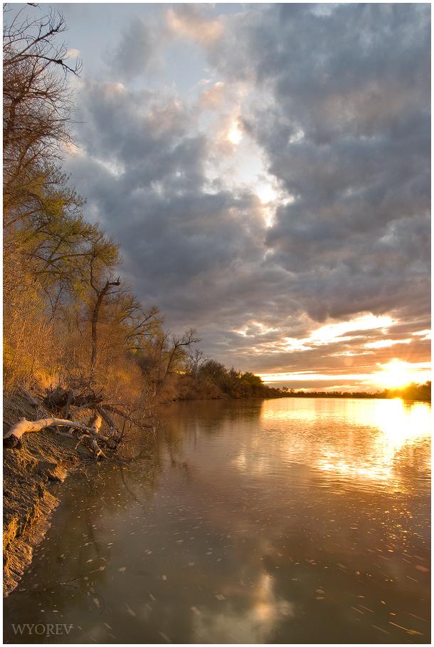 Yellowstone River - Forsyth by wyorev