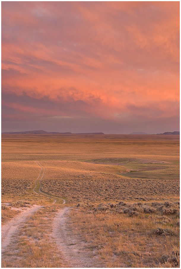 Two-track to the Sunset by wyorev