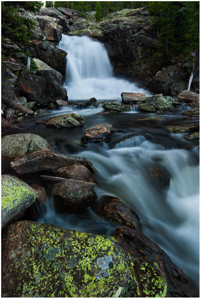 Tensleep Falls by wyorev