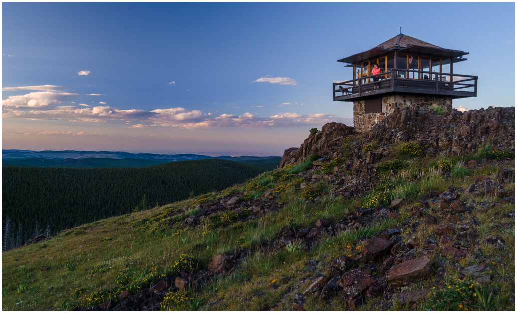 Sheep Mountain Lookout 2 by wyorev