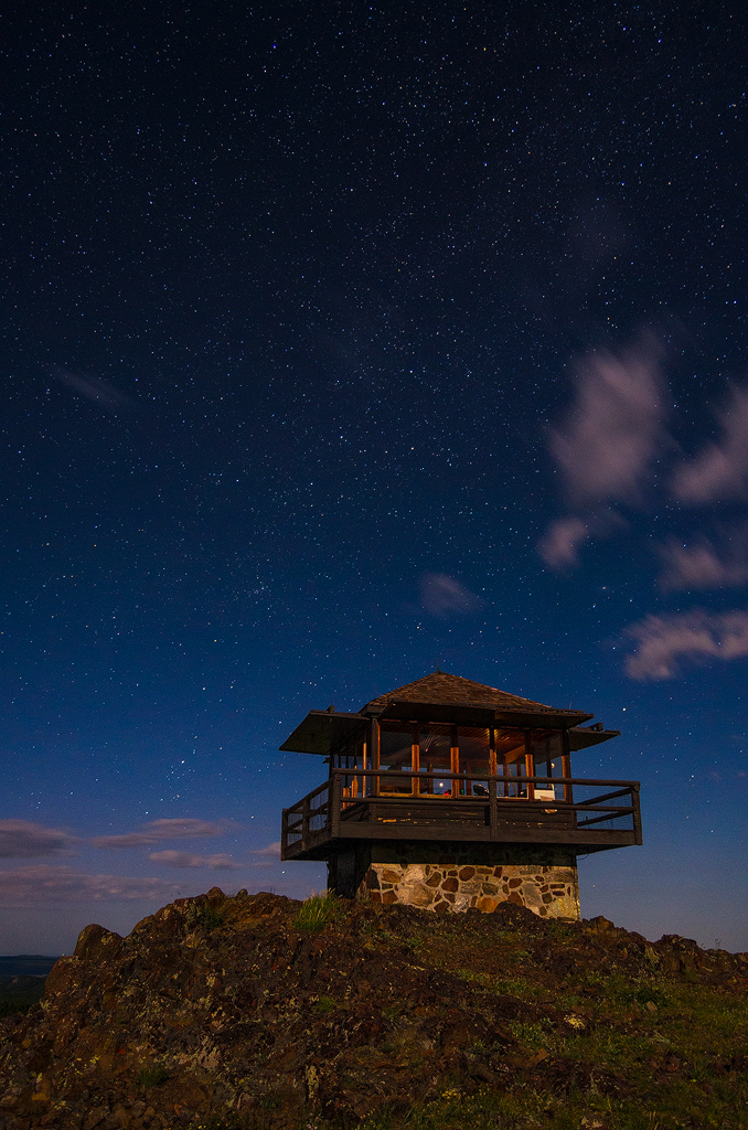 Stars over the Lookout 1 by wyorev
