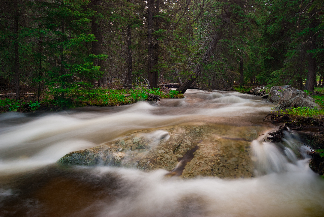 Middle Fork Run Off by wyorev