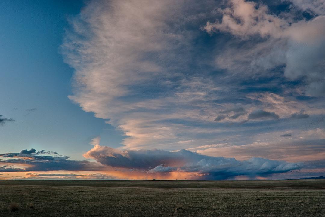 Big Wyoming Sky by wyorev