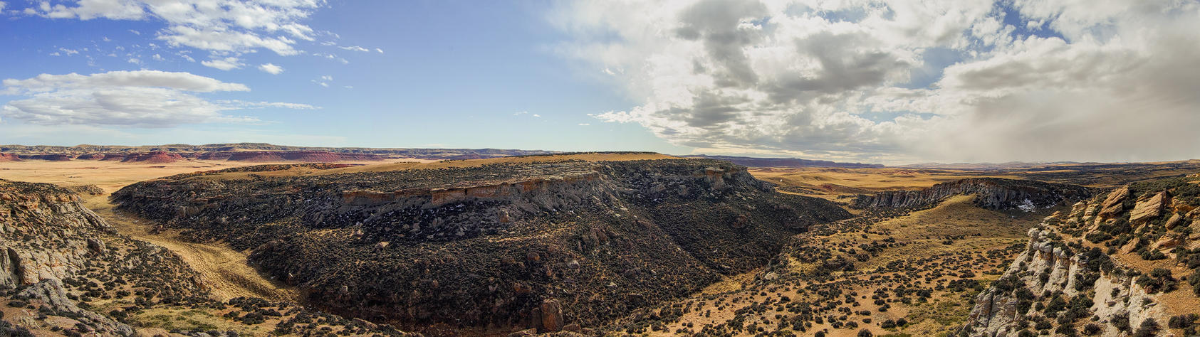 Lost Canyon Panorama by wyorev