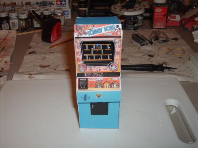 Donkey Kong Arcade papercraft by AUSTINMEADOWS
