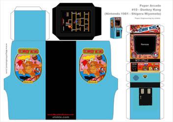 Donkey Kong Arcade template