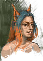 Portrait by Sp0loh
