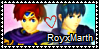 RoyxMarth stamp by SweetTails247