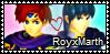 RoyxMarth stamp by SweetTails247